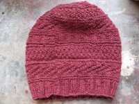 97a6d366ff0 Libby has taken a break from making all those Man Hat s to create this  stunning piece for her daughter. Knit using Remix from Berroco this hat is  sure to ...